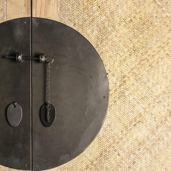 Armario de madera y ratán de estilo oriental