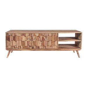 Mueble de television de madera estilo nórdico vintage