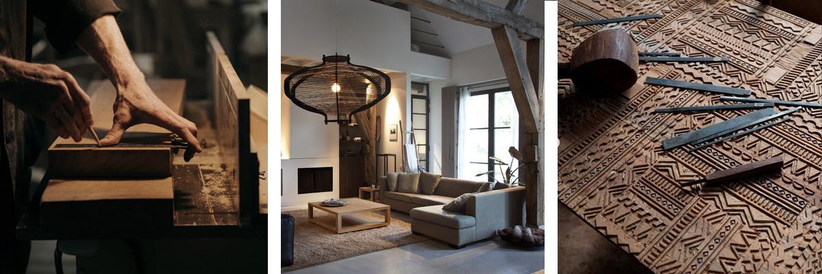 Mobiliario de estilo Escandinavo Orgánico