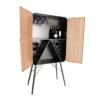 vitrina mueble bar industrial